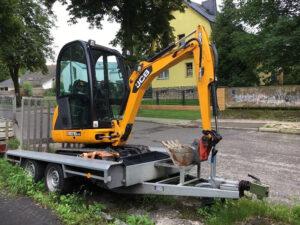 Baumaschinenanhänger - Bautechnik-Meißner