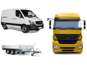 Transporter-LKW - Bautechnik-Meißner